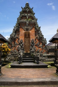Balinese temple gate