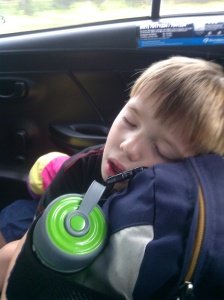 Cian didn't even make it on the taxi ride to the airport in Jakarta.