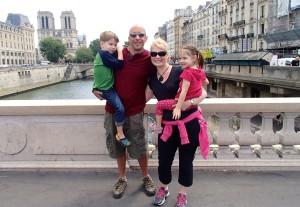 A bridge on the river Seine.
