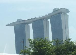 Singapore's famous Marina Bay Sands Hotel