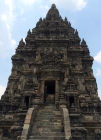 A Prambanan temple