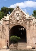 A doorway in Taman Sari
