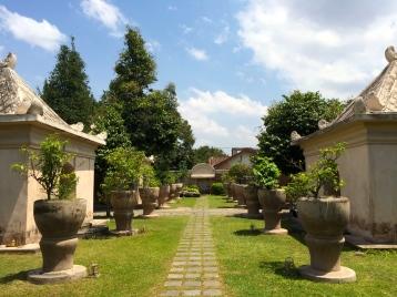The gardens of Taman Sari