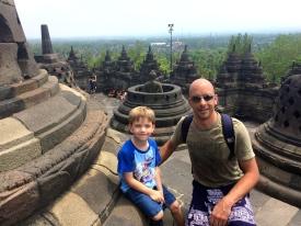 On top of Borobudur