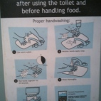 Only in the state of Vermont would they have to describe (with pictures) how to wash your hands.