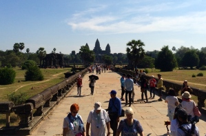 Angkor Wat from the outer wall