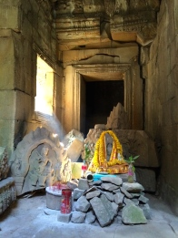 The temples are still used as places of worship today