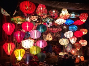 Hoi An is famous for paper lanterns