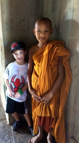 Cian and a young monk