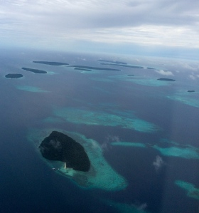 Some of the smaller Kei Islands