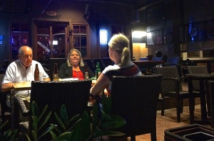 Surreal- my parents at Tortuga!