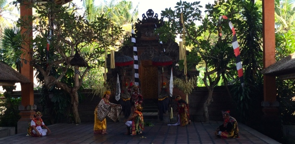 A scene from the Barong