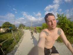 Biking on Gili Air