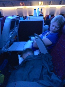 Sleeping to Doha