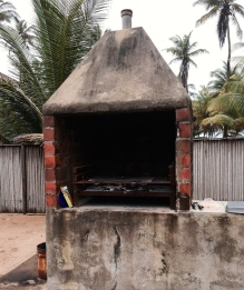 A barbecue, Nigerian style