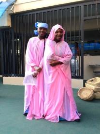 Dressed like Northern Nigeria