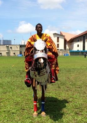 A Nigerian horseman