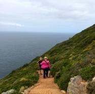 Heading toward the world's edge