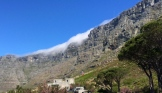 The front face of Table Mountain