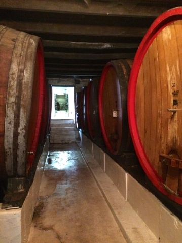Sweet barrels of wine