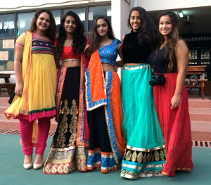 Some of our students dressed for Diwali