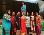 Our Indian moms who hosted the event