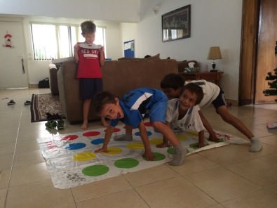 Twister with friends
