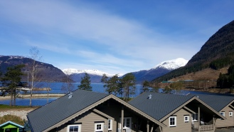 The Fjord from the cabins