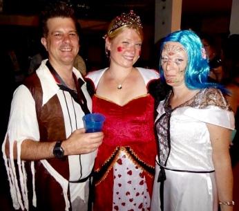Halloween with David, Sarah and Darlene