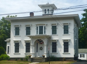 A Captain's house on Guilford green