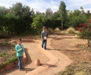 Mini-golf at Jardins d'Issil