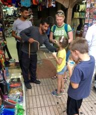 Picking wooden cobras