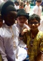 Cian and his friends at Nigerian Culture Day